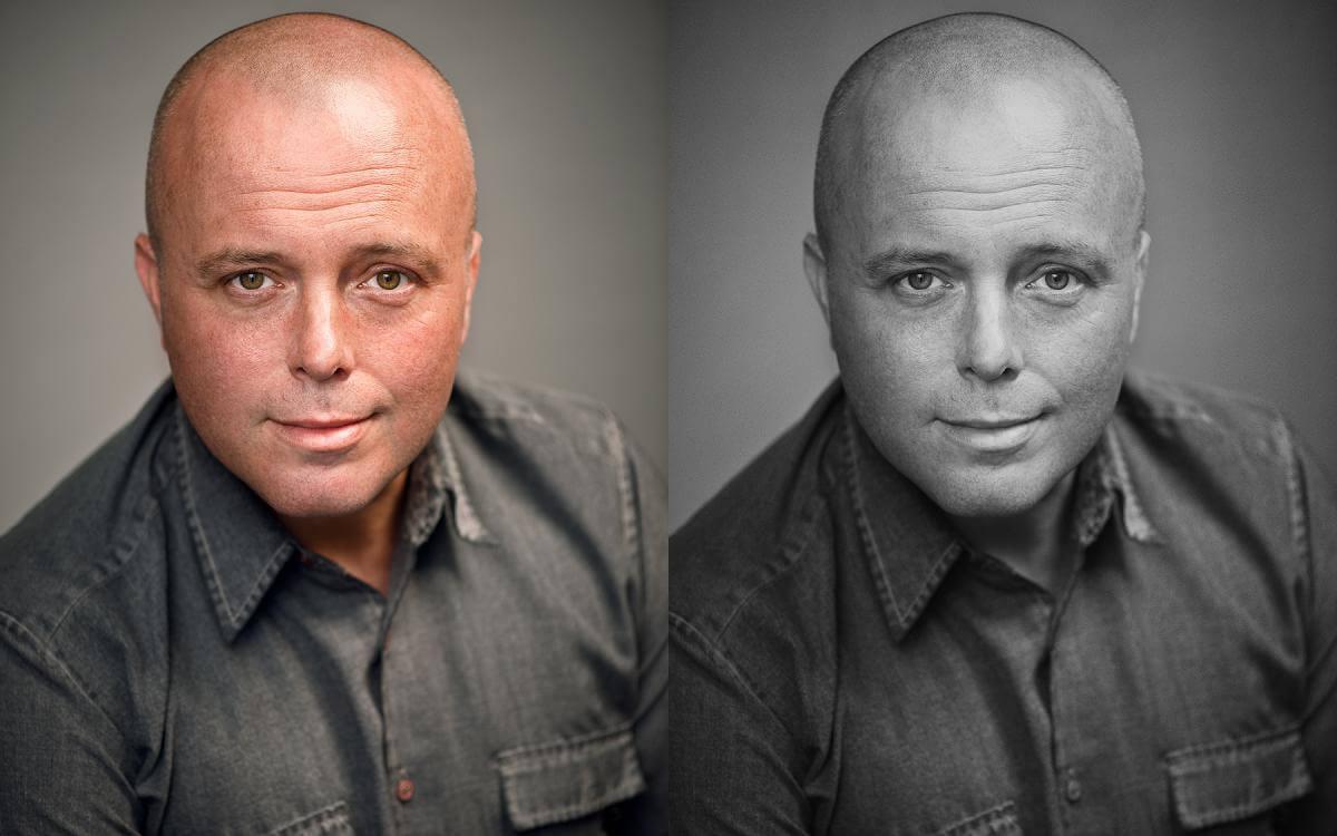 actor wears grey shirt