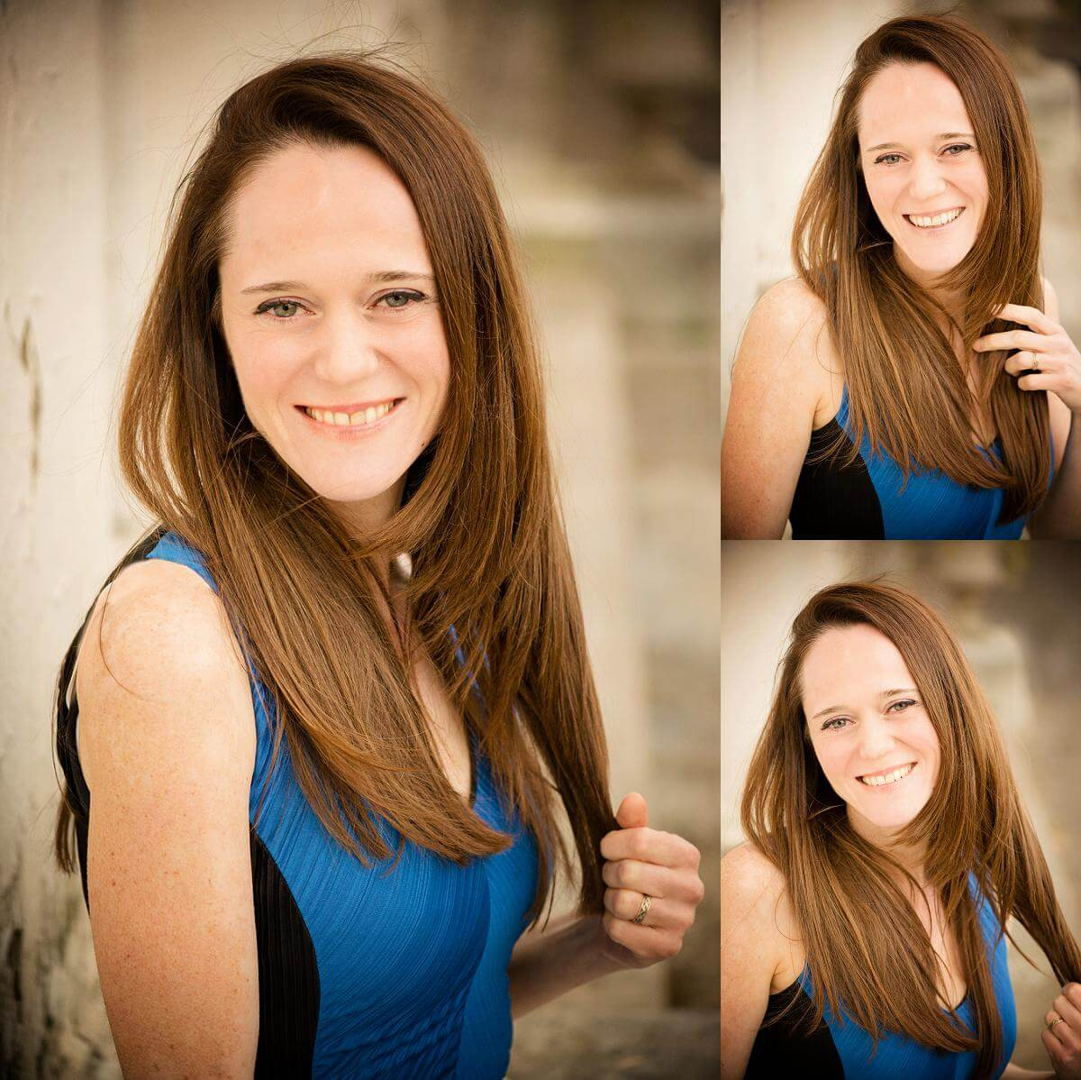 outdoor headshot session