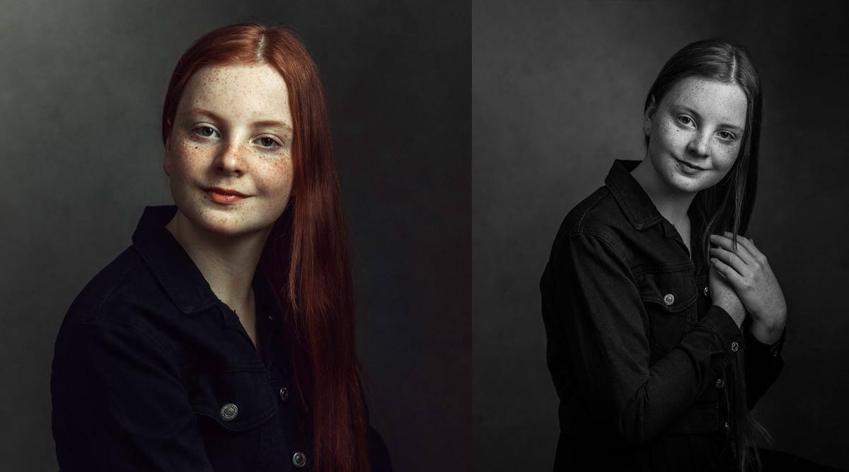 red head teen actor photo