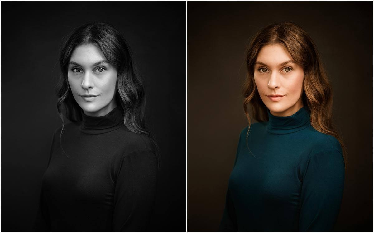 classy headshot for female actor